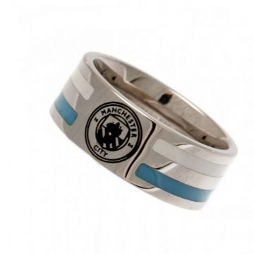 Manchester City Ring with Colour Stripe - Medium